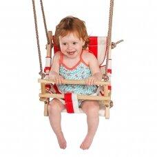 Kūdikio kėdutė medinė