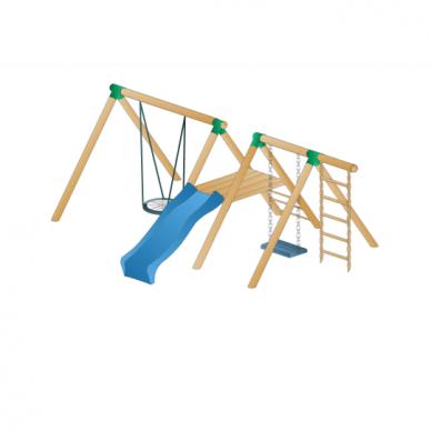 Lauko vaikų žaidimų kompleksas Dvigubas