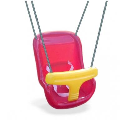 Plastikinė kūdikio sėdynė
