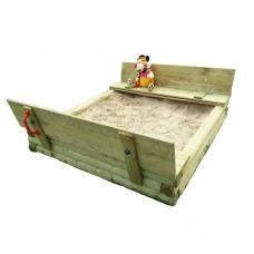 Smėlio dėžė su dangčiu